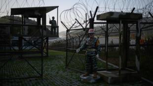 """Zona """"desmilitarizada"""" entre ambas Coreas"""