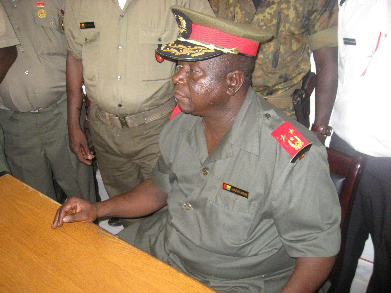 António Indjai, chefe de Estado-Maior General das Forças Armadas da Guiné-Bissau.