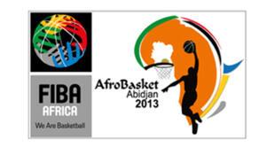 Logótipo Afrobasket 2013
