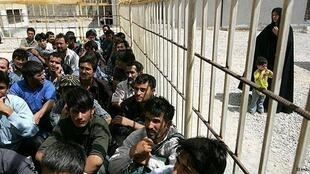 Le camp Sang Sefid, dans la province de Khorasan (nord-est de l'Iran).