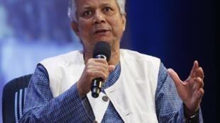 Giải Nobel hòa bình Muhammad Yunus, cựu Tổng giám đốc Ngân hàng dành cho người nghèo Grameen Bank