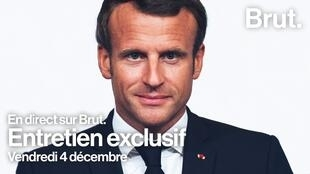 Macron-brut