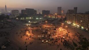 Os adversários do presidente Mohamed Mursi fizeram passeata na praça Tahrir no último dia 21.