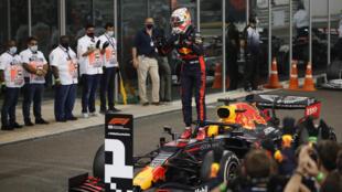 Verstappen ending last season in style for Red Bull in Abu Dhabi