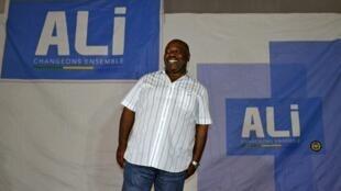 Ali Bongo à Libreville le 8 août 2016.