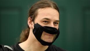 Un masque transparent. (image d'illustration)