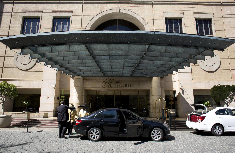 The Michelangelo Towers hotel in Johannesburg, where former colonel Patrick Karegeya was found dead.