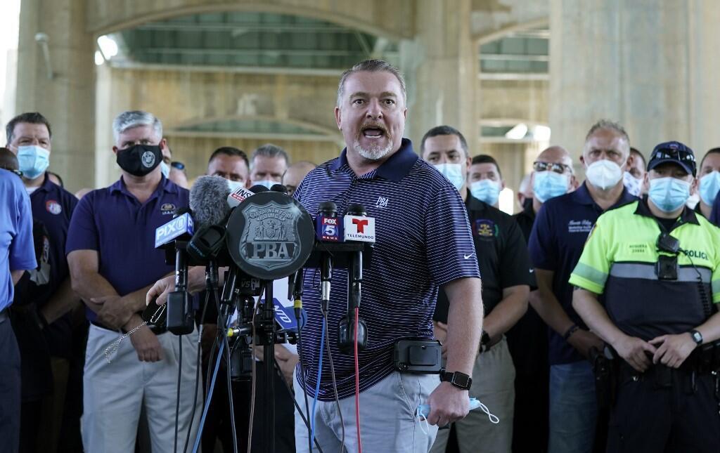 Mike O'Meara, le patron de la police de New York, le 9 juin 2020.