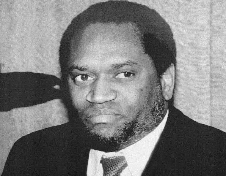 Tsohon shugaban kasar Burundi, kuma zababben shugaban kasar na farko Melchior Ndadaye, wanda 'yan kabilar Tutsi suka hallaka a juyin mulkin da bai yi nasara ba a ranar 21 ga Oktoba na shekarar 1993.
