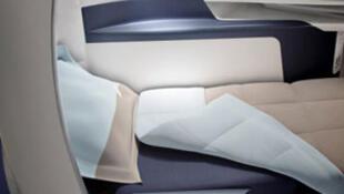 Le nouveau fauteuil Business d'Air France.