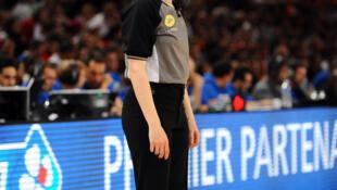 Carole Delaune, arbitre de basket-ball.