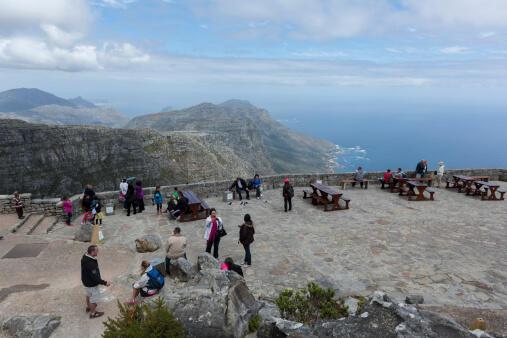 Le parc national de Table Mountain au Cap, en Afrique du Sud.