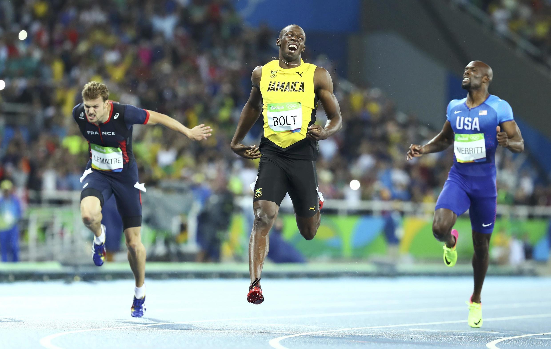 O jamaicano Usain Bolt venceu com facilidade a prova dos 200 metros rasos no Rio de Janeiro.