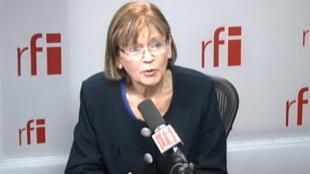 Marie-George Buffet, députée PCF, candidate du Front de gauche à Saint-Denis.