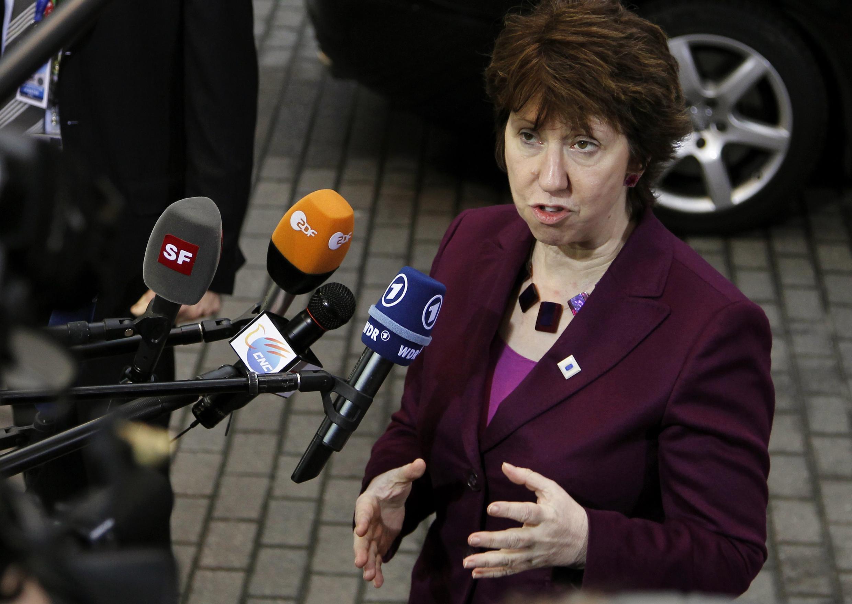 Верховный комиссар ЕС по внешней политике Кэтрин Эштон