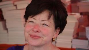 Catherine Servan Schreiber a coordonné le dossier littérature mauricienne contemporaine dans le n° 32 de la Revue Siècle 21. Ici, lors de l'édition 2009 de la Comédie du Livre à Montpellier en France.