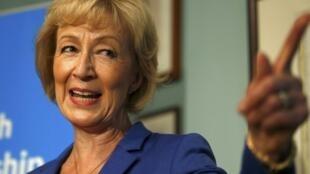 Andrea Leadsom, một ứng cử viên nặng ký của đảng bả thủ để thay thế thủ tướng Cameron.