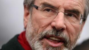 Le président du Sinn Fein, Gerry Adams.