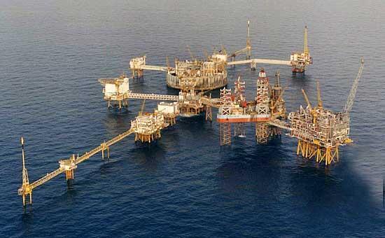 Một giàn khoan dầu ngoài khơi Skandinavia của Tập đoàn dầu khí Mỹ ConocoPhillips