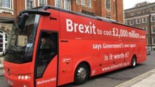 Le bus des anti-Brexit a parcouru 2 500 km à travers tout le Royaume-Uni.