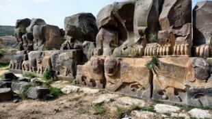 """معبد """"عیندارة""""، پرستشگاه ایشتار در عَفرین"""