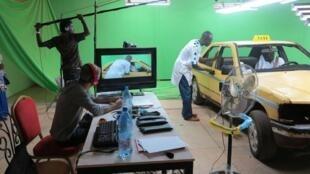 Le tournage d'une série télévisée «Taxi Tigui» à Bamako au Mali. (Photo d'illustration)