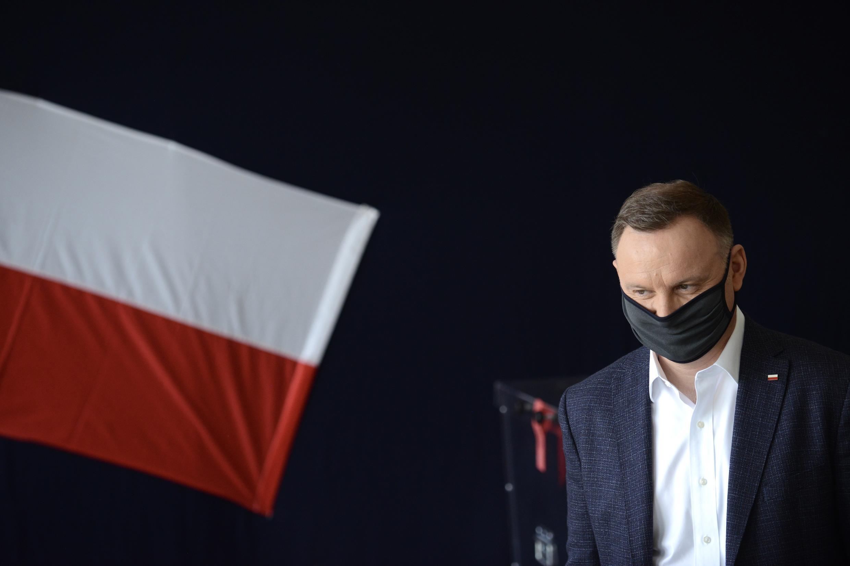 Presidente da Polónia, Andrzej Duda.