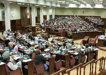 پارلمان افغانستان-تصویر آرشیوی