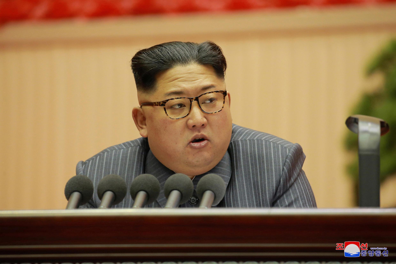 Kiongozi wa Korea Kaskazini Kim Jong Un ameonya nchi yake kuingiliwa kijeshi.