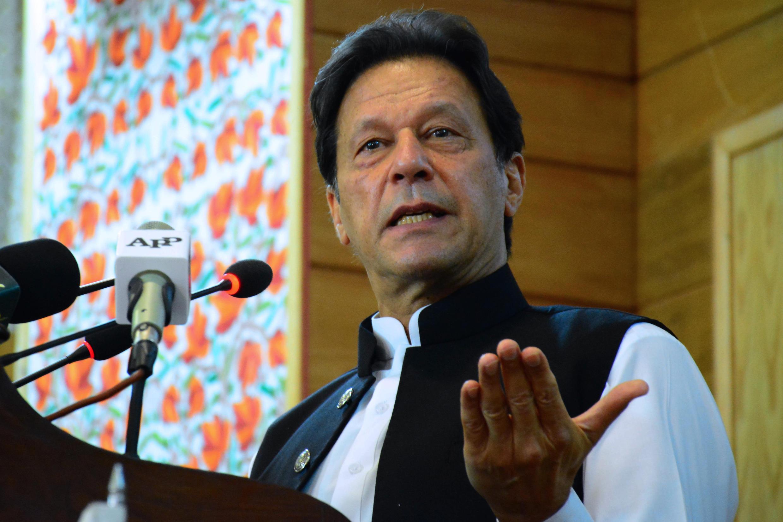 Imran Khan said Macron's remark would sow division