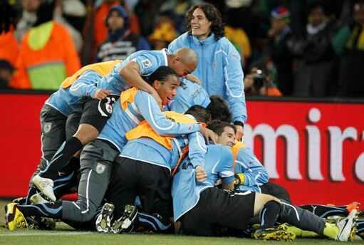 Uruguay hy vọng lập lại thành tích giành cúp thế giới (Reuters)