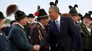Shugaban Amurka Obama, ya isa Jamus don taron G7 yuni 2015