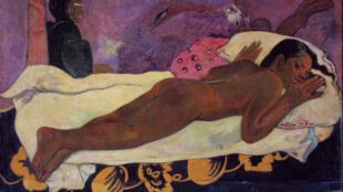 Paul Gauguin (1848-1903) Manaò tupapaú (The Spirits of the dead keep watch)