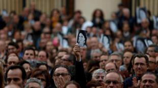 La periodista y bloguera anticorrupción Daphne Caruana Galizia, fue asesinada en la Valeta, en Malta, el 16 de octubre de 2017 en la explosión de un coche bomba.