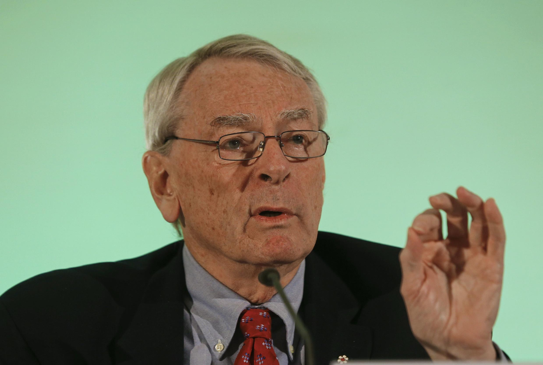 Бывший президент международного антидопингового агентства WADA Ричард Паунд известен как непримиримый борец с коррупцией.