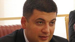 Volodymyr Groïsman, nouveau Premier ministre ukrainien.