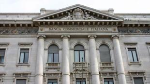 Banco comercial italiano.