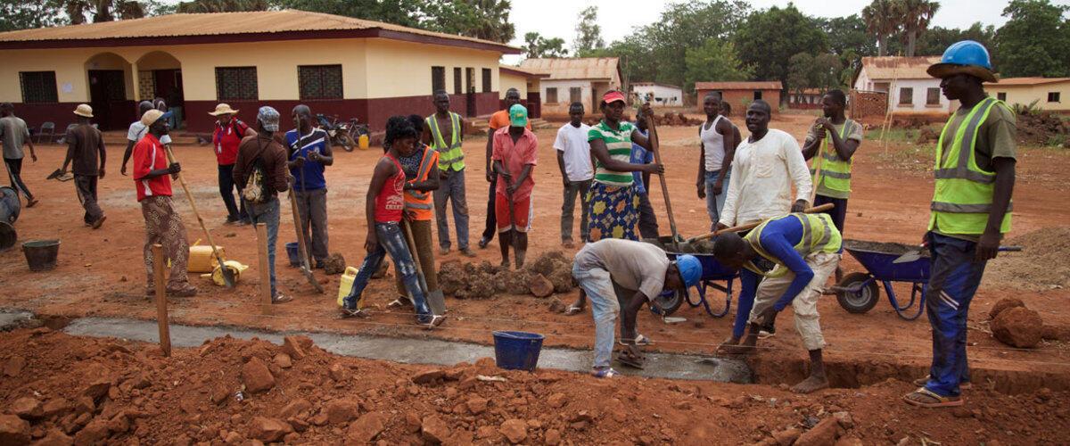 Financés par l'agence des Nations unies pour le développement (Pnud), l'objectif de ce projet est de leur permettre de gagner un petit pécule pour financer ensuite une autre activité.