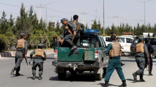 نیروهای پلیس افغان