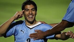 Mshambuliaji wa timu ya taifa ya Uruguay, Luis Suarez