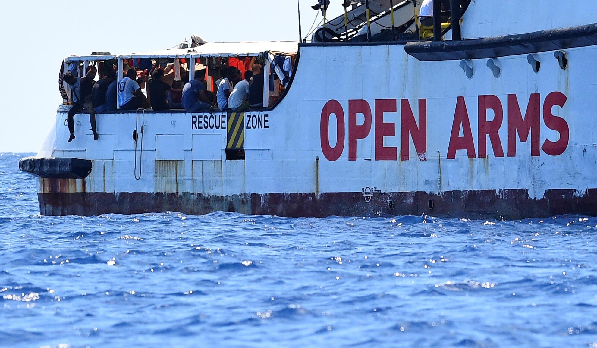 Спасательное судно Open Arms