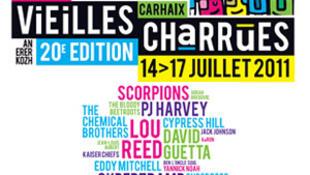 O Festival da Vieilles Charrues ( velhos arados) que é realizado todos os anos em meados de julho na cidade de Carhaix, no oeste da Bretanha.