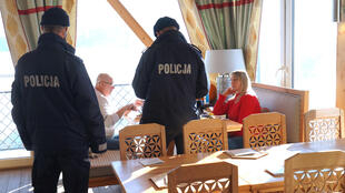 While a few restaurants did reopen, they faced visits from the police, and fines