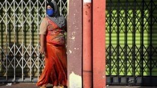 Une Birmane de l'ethnie rohingya à Kuala Lumpur, le 18 mai.