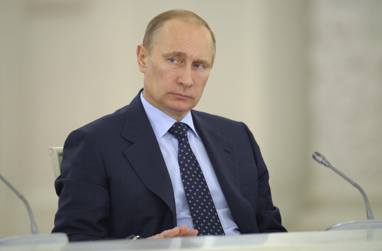 Vladimir Putin participa do Conselho de Estado nesta segunda-feira, em Moscou.