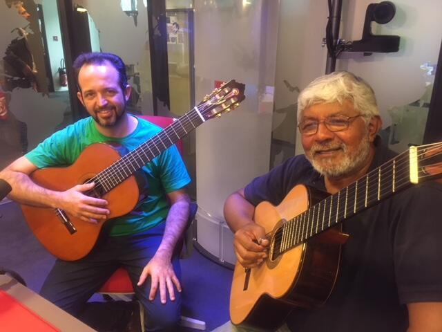 Dinho Nogueira e Zé Barbeiro Silva