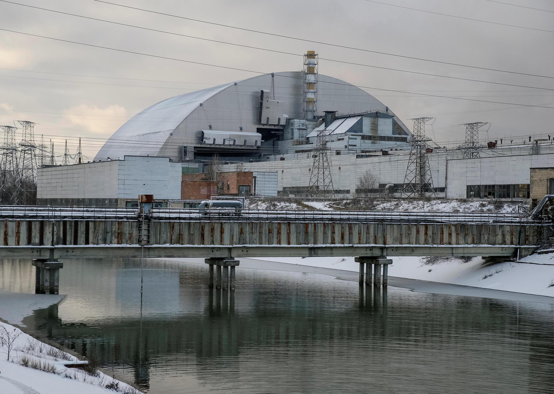 Новое «укрытие» для Чернобыльской АЭС