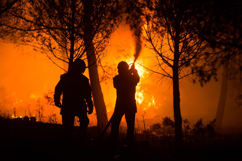 Região considerada como pulmão verde da Espanha é devastada por incêndio