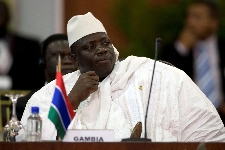 Aliyekuwa rais wa Gambia, Yahya Jammeh, atuhumiwa kupora Dola milioni 50. (Picha ya zamani).