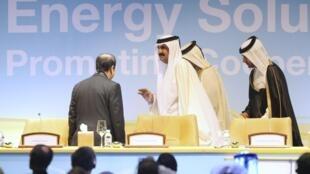 Congresso Mundial do Petróleo em Doha reúne as principais monarquias do Golfo